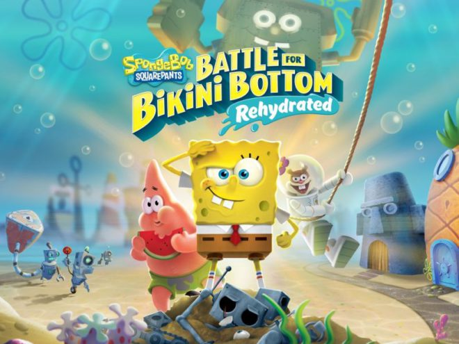 BATTLE FOR BIKINI BOTTOM - REHYDRATED